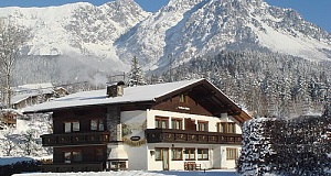 Landhaus Alpina im Winter