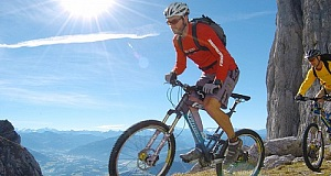 Mountainbiking am Wilden Kaiser